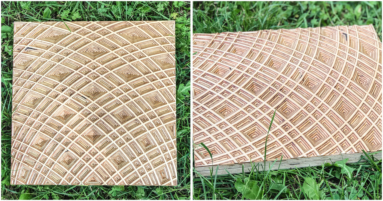 3D панели из фанеры