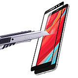 Премиум стекло дважды закаленное 5D для Xiaomi Redmi S2 /  (полный клей) / Черный, фото 3