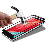 Премиум стекло дважды закаленное 5D для Xiaomi Redmi S2 /  (полный клей) / Черный, фото 4