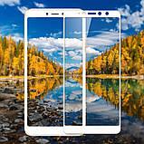 Премиум стекло дважды закаленное 5D для Xiaomi Redmi S2 /  (полный клей) / Черный, фото 6