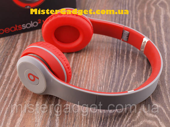 Беспроводные наушники Solo2 STN-019 Red Wireless с Bluetooth, фото 2