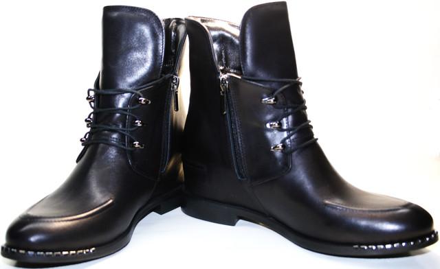 """Женские ботинки на шнурках подойдут дамам """"в возрасте"""" и молодым девушкам"""