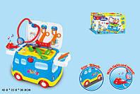 Доктор машина 2 в 1, автомобиль с детскими медицинскими инструментами, 661-171