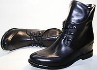 Ботильоны на шнурках. Модные женские ботинки Jina collection - 6485