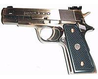 """Сувенирная зажигалка """"Пистолет"""" газовая, карманная. Низкая цена."""