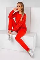 Женский спортивный костюм с люверсами 34- 1046, фото 1