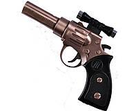 """Зажигалка сувенирная """"Пистолет с лазером"""", газовая. Качественное исполнение. Низкая цена"""