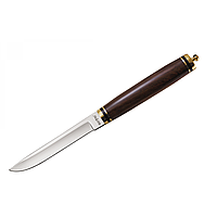 Нескладной нож GRAND WAY для охоты, рыбалки и туризма. Материла: палисандр, латунь, нержавейка.Высокое качесто