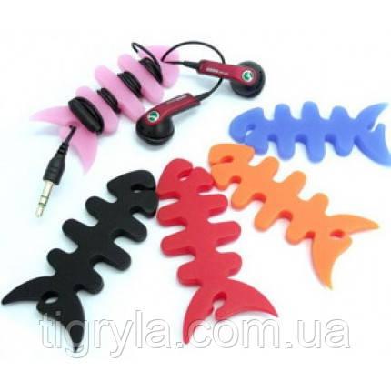Органайзер для наушников, рыбка, для кабеля от наушников, фото 2
