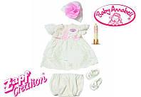 Одежда для куклы на Крестины  Baby Annabell Zapf Creation 792049