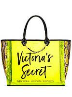 Силиконовая салатовая сумка Victoria's Secret , фото 1