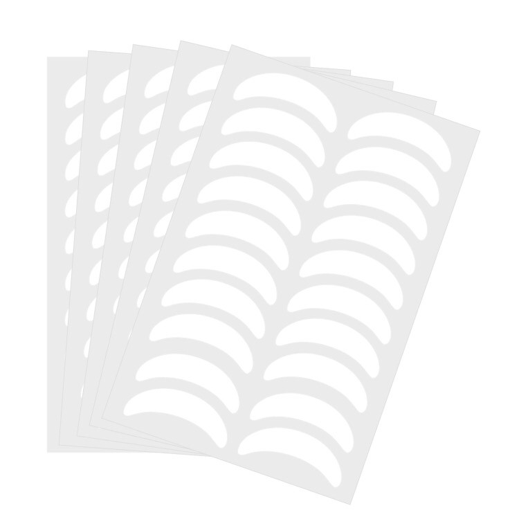 Патчи на листе для изоляции ресниц (10 пар на листе)