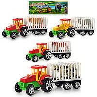 Трактор с прицепомA900
