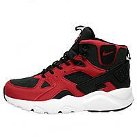 ce5eea6f Кроссовки мужские Nike Air Huarache Winter Shoes *красные-черные) зимние ( Top replic