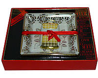 Подарочный набор в китайском стиле в красивой упаковке 2в1: пепельница+зажигалка