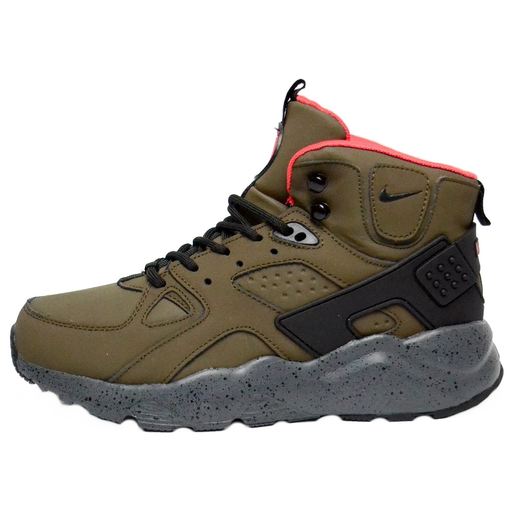 85a8b1e8e Кроссовки мужские Nike Air Huarache Winter Shoes (камуфляж) зимние (Top  replic)