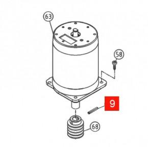 Палец пружинный червяка RO/TH1551/RB1000 (PMCS6.4630)