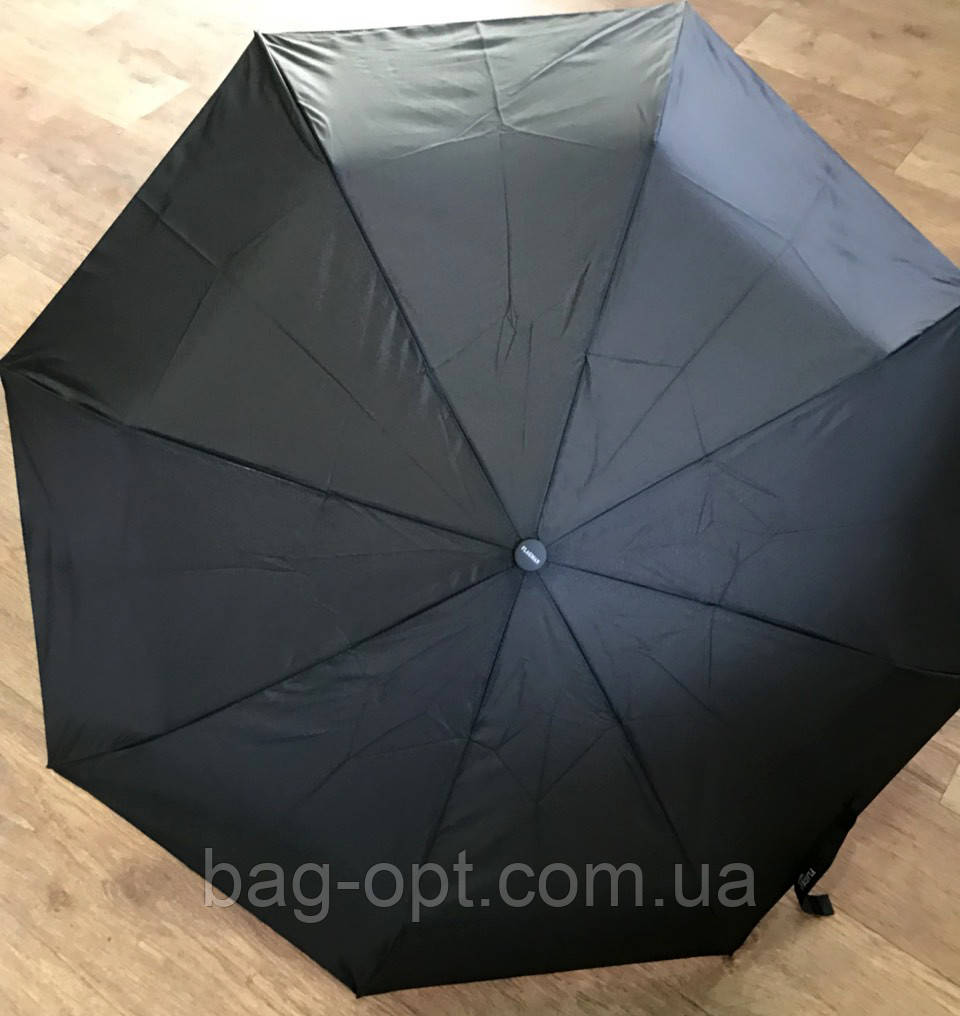 Мужской зонт полуавтомат Flagman (Черный)