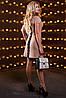 Женское однотонное платье с отделкой из кружева (2518-2516-2517-2519 svt), фото 6