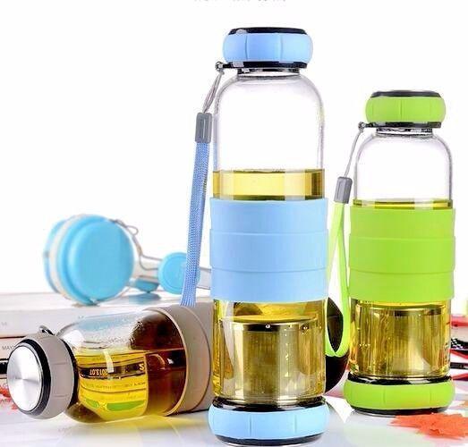 Бутылка для питья 650 мл стекло Sling glass