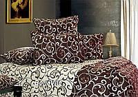 Постельное белье двухспальное 100% хлопок Бязь-Голд Украина, фото 1