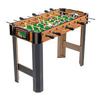 Настольный футбол 1090 деревянный, шкала ведения счёта