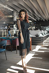 Трендовое платье 3839