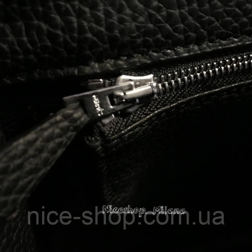 Люкс-реплика Эрмес Келли серая в коже 32 см, стандарт, фото 2