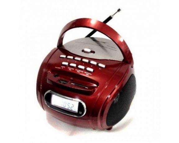 Бумбокс колонка MP3 USB радио Golon Red