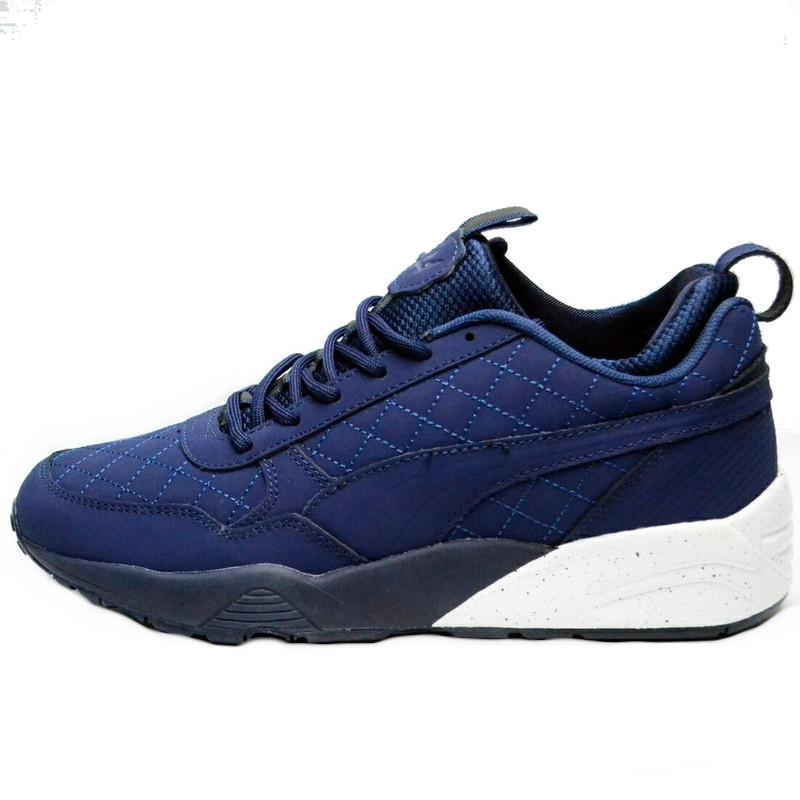 Кроссовки мужские Puma Blaze of Glory Winter Shoes (синие) зимние (Top replic)