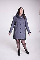 Пальто женское Л-502 большого размера, фото 1