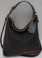 Мягкая сумка- сеточка  черная