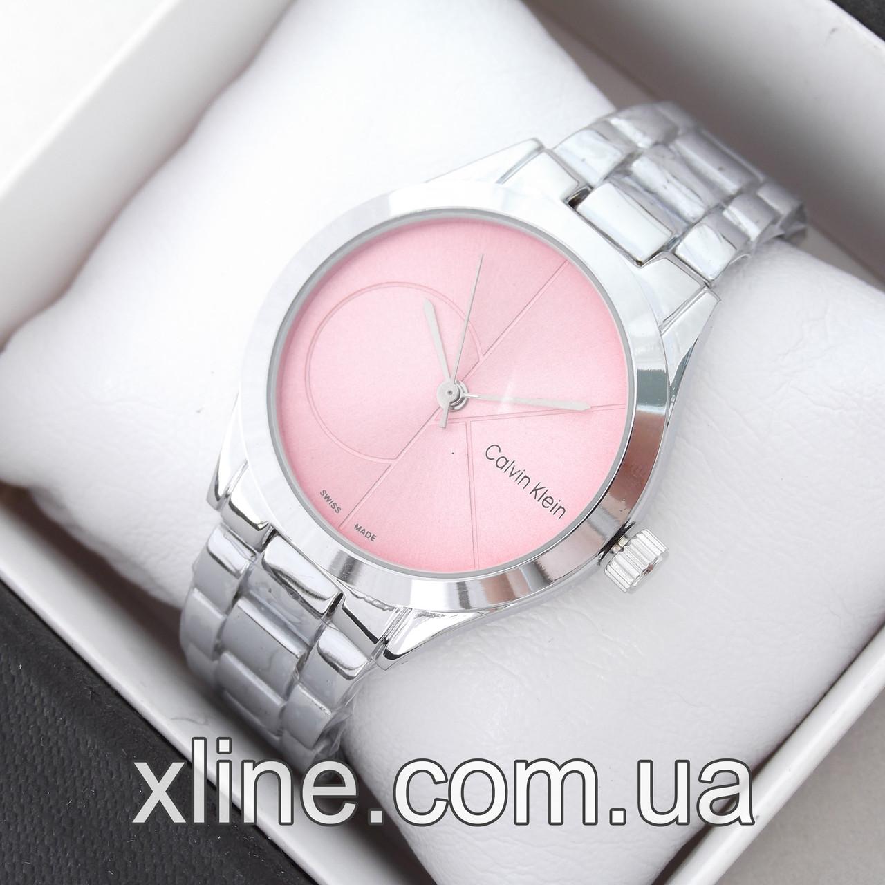 Женские наручные часы Calvin Klein 8302 на металлическом браслете