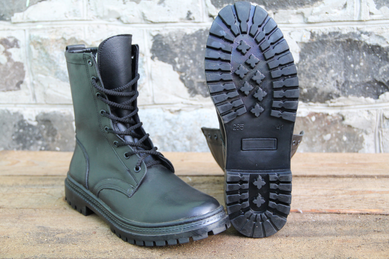 Тактические ботинки из натуральной кожи РА - НАТО energy