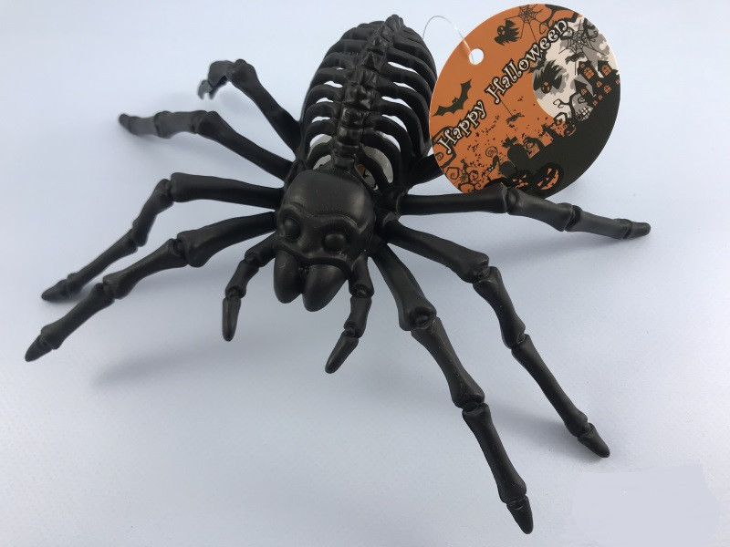 Светящийся паук 20 см