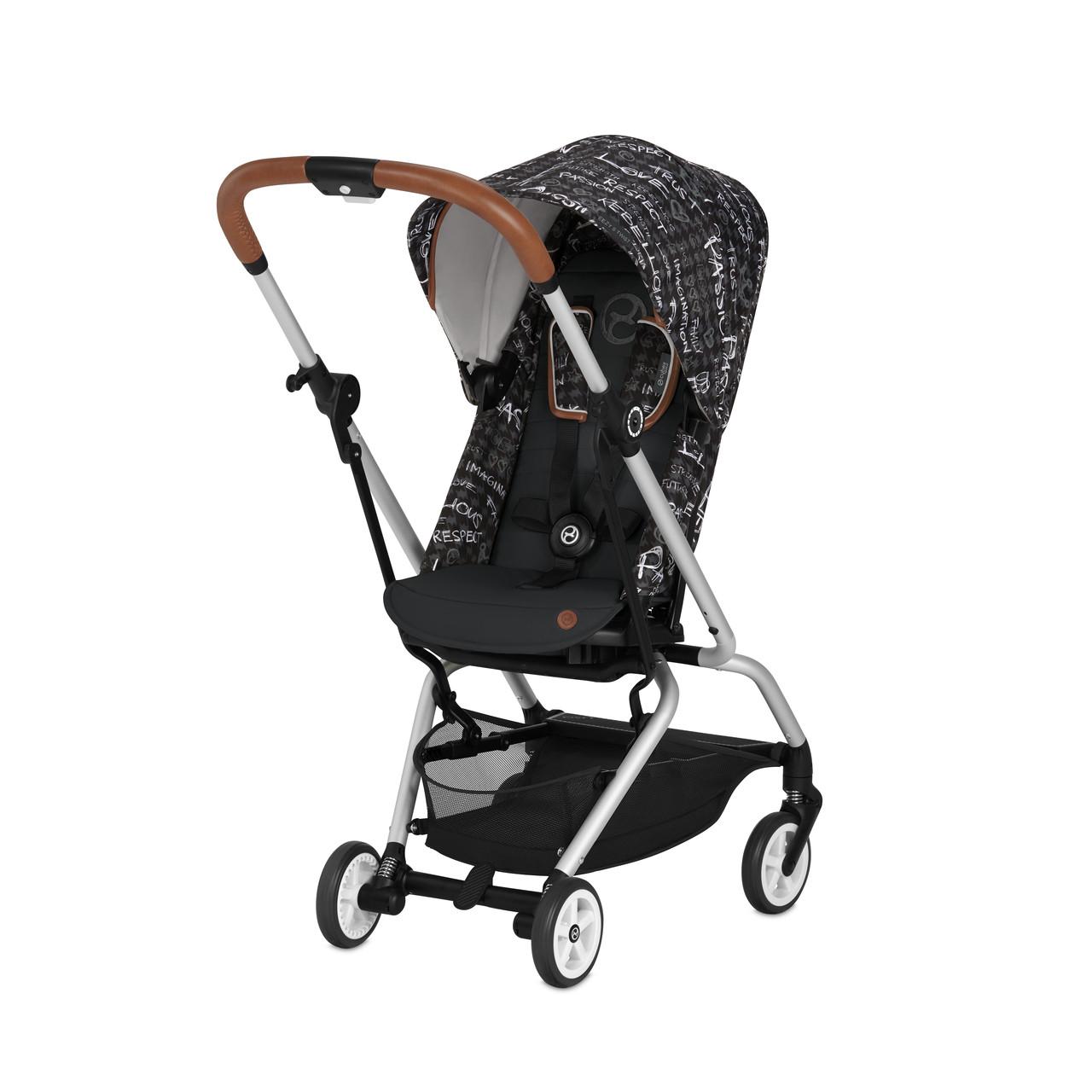 Cybex - Прогулочная коляска Eezy S Twist Values for life, цвет Strength dark-grey