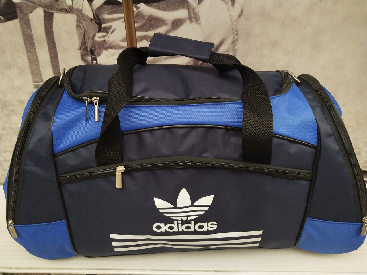 0200a6d01c23 30*61)Спортивная дорожная сумка ADIDAS только оптом: продажа, цена в ...