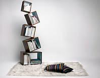 Полка книжная для дома и офиса №1 Кремона