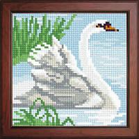 Схема для вышивки нитками №1109 Лебедь