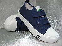 Кеды синие детские 37р.