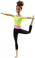 Кукла Барби Йога Шарнирная Афроамериканка Barbie Made To Move, фото 1