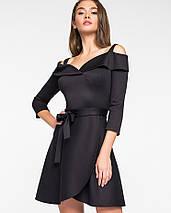 Женское платье с открытыми плечами и поясом(5118-5109-5996-5997ie), фото 2
