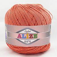 Alize Aura №38 коралловый
