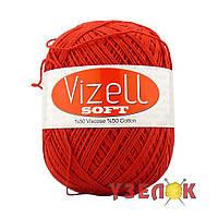 Vizell Soft №165 оранжево-красный