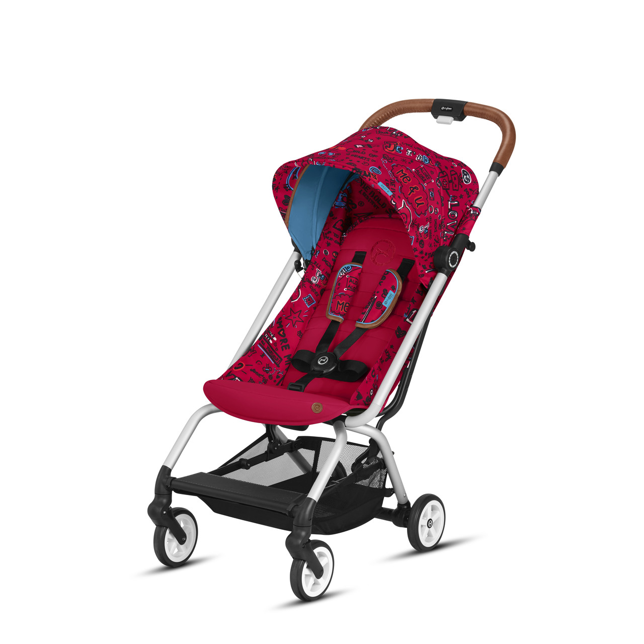 Cybex - Прогулочная коляска Eezy S Values for life, цвет Love red