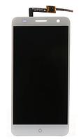 Дисплей (экран) для ZTE Blade V7 + тачскрин, белый