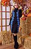 Вязаное платье с розами (в расцветках), фото 4