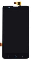 Дисплей (экран) для ZTE V5 Lux, V5 Redbull V9180 + тачскрин, черный