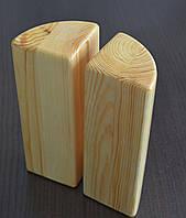 Йога-блок кирпич полукруглый Набор 2 шт, фото 1
