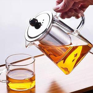 Заварочные чайники стеклянные